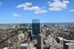 Widok Z Lotu Ptaka Boston, Massachusetts Zdjęcia Stock