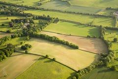 Widok z lotu ptaka Buckinghamshire krajobraz obrazy royalty free