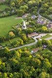 Widok z lotu ptaka Buckinghamshire krajobraz zdjęcie royalty free