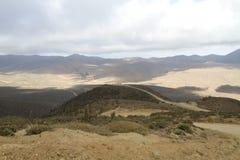 Widok z lotu ptaka burdy Jorge park narodowy Fotografia Stock