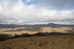 Widok z lotu ptaka burdy Jorge park narodowy Zdjęcie Stock