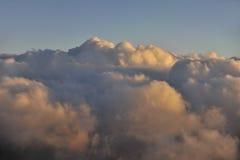 Menchii chmury Zdjęcia Stock