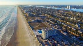 Widok z lotu ptaka Daytona plaża, Floryda zdjęcie stock