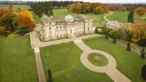 widok z lotu ptaka Emo Dworski dom Portlaoise Irlandia obrazy royalty free