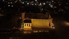 Widok z lotu ptaka Erechtheion w akropolu Ateny antyczna cytadela, Grecja zbiory