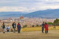 Widok Z Lotu Ptaka Florencja, Włochy Obrazy Stock