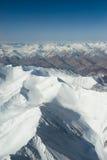 Widok z lotu ptaka góra Obrazy Stock