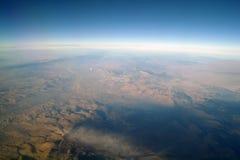 Widok z lotu ptaka góry, zdjęcie stock