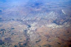 Widok z lotu ptaka góry, obrazy royalty free