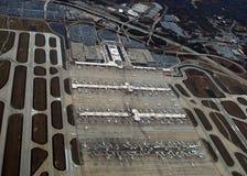 Widok z lotu ptaka Hartsfield†'Jackson Atlanta lotnisko międzynarodowe Zdjęcia Stock