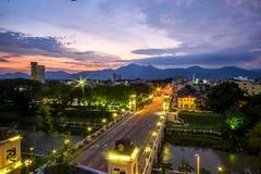 widok z lotu ptaka Ipoh, Perak, Malezja obrazy royalty free