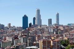 Widok z lotu ptaka Istanbuł Obraz Royalty Free