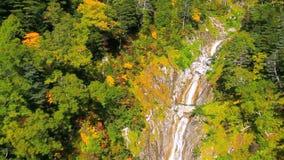Widok Z Lotu Ptaka: Jesień w górach zdjęcie wideo