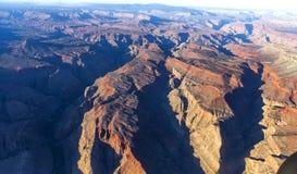 Widok z lotu ptaka Kolorado uroczysty jar, Arizona, usa Obrazy Royalty Free