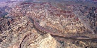 Widok z lotu ptaka Kolorado uroczysty jar, Arizona, usa Obrazy Stock