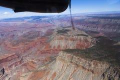 Widok z lotu ptaka Kolorado uroczysty jar, Arizona, usa Fotografia Royalty Free
