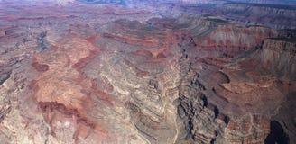 Widok z lotu ptaka Kolorado uroczysty jar, Arizona, usa Zdjęcie Stock