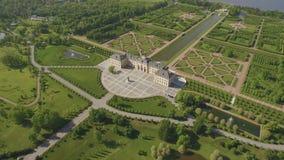 Widok z lotu ptaka Konstantinovsky pałac zbiory wideo