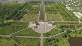 Widok z lotu ptaka Konstantinovsky pałac zbiory