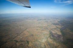 Widok z lotu ptaka kraj w Venezuela zdjęcia stock