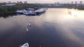 Widok z lotu ptaka Kremlin zdjęcie wideo