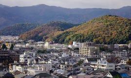 Widok z lotu ptaka Kyoto, Japan Obraz Stock