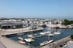 Widok z lotu ptaka La Rochelle, Francja Obraz Royalty Free