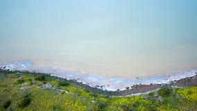 Widok z lotu ptaka laguna Zdjęcie Royalty Free