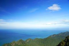 Widok z lotu ptaka Langkawi wyspa Fotografia Stock