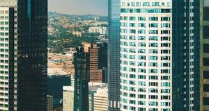 Widok z lotu ptaka Los Angeles, CA Fotografia Stock