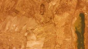 widok z lotu ptaka lot nad powierzchnią planeta Mars zbiory wideo