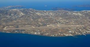 Widok z lotu ptaka małe wyspy fotografia royalty free