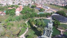 Widok z lotu ptaka Mangal das garas w Belem robią Para miastu Amazonki konserwacja Listopad, 2016 zbiory