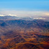 Widok z lotu ptaka Maroko atlant Afryka Obraz Stock