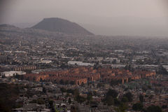 Widok z lotu ptaka Meksyk obraz royalty free