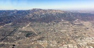 Widok z lotu ptaka miast neas Las Vegas Zdjęcie Royalty Free