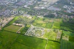 Widok z lotu ptaka miasto Berlin Fotografia Stock
