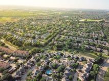 Widok z lotu ptaka miastowy bezładne skupisko w forcie Warty teren obraz royalty free