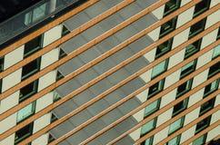 Widok z lotu ptaka mieszkanie budynki w Auckland śródmieściu Fotografia Stock