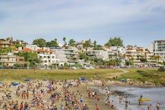 Widok Z Lotu Ptaka Montevideo plaża, Urugwaj obrazy royalty free