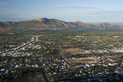 Widok z lotu ptaka na Townsville mieście Obraz Royalty Free