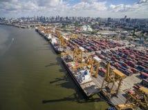 Widok Z Lotu Ptaka Nad Dockyard Obraz Royalty Free