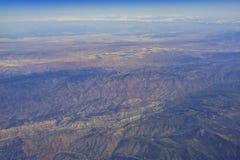 Widok z lotu ptaka niektóre widok górski Obraz Stock