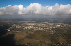 Widok z lotu ptaka od above Obrazy Stock