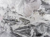 Widok z lotu ptaka otwartej jamy piasek w Polska Obrazy Royalty Free