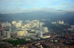 Widok z lotu ptaka Penang, Malezja Fotografia Stock