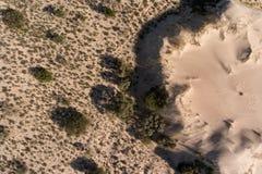 Widok z lotu ptaka piasek diuny - Południowa Afryka Zdjęcia Royalty Free