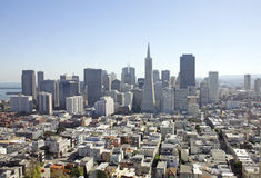 Pieniężny okręg w San Fransisco, Usa Fotografia Royalty Free