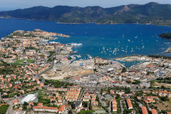 Elba wyspy schronienie Zdjęcie Royalty Free