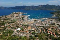 Isola d'elba - Portoferraio schronienie Obraz Royalty Free